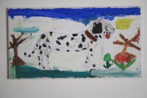 jacky__s_dog by Carol Silvester