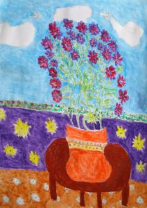 Bunch of Flowers by Jane Mathieson