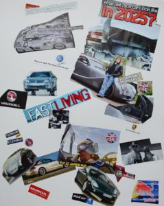 Mixed images on the theme of cars by Jo Brienza