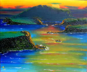 Feskavaig Bay by Mat (JimDogArt)