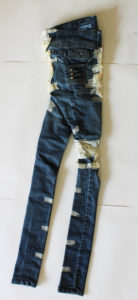 Jeans Three (front) by Michael Smith