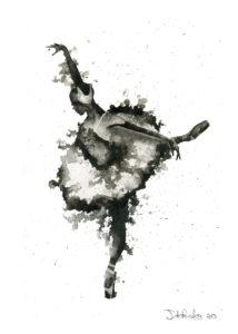 Ballerina 1 by Jonathan dos Remedios