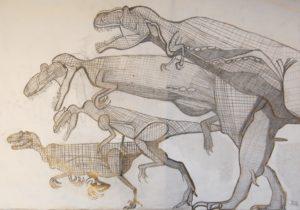 Dinosaur Predators by John Ackhurst