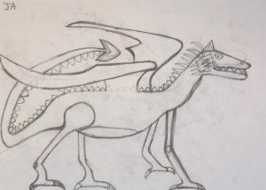 Dragon by John Ackhurst