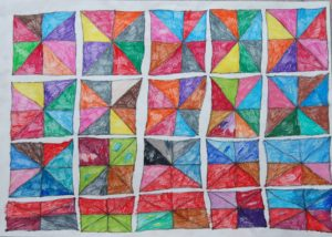 Squares and Triangles by John Bishop