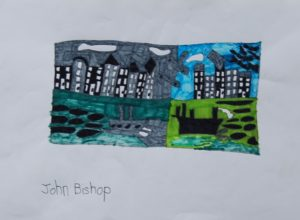 Houses by the River by John Bishop