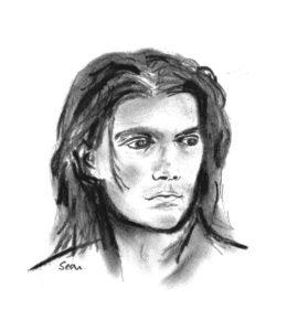 Johnny Looking Left. by SeaSideSean