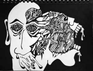 Schizophrenic Alcoholic by JOHN POLSON