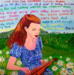 Mountain Girl by Tim Bradford