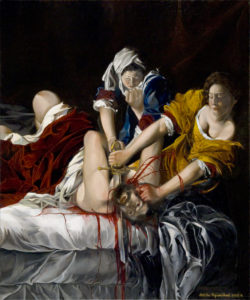 Judith Beheading Holofernes (after Artemisia Gentileschi) 2009-2011 by Natalie Papamichael