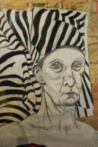 Self portrait as an Egyptian by Julie  Fiera