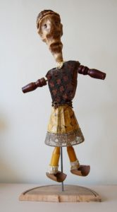 The Dervishes Series – figure Three by Detail of Railroad Jim