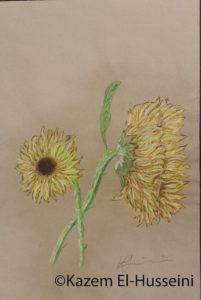 Sunflowers by Kaz