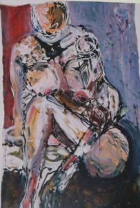 Nude by Keith Davies