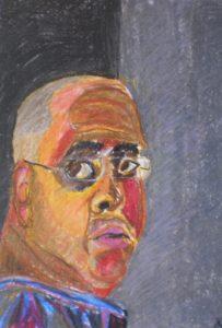 self portrait by Keith Davies