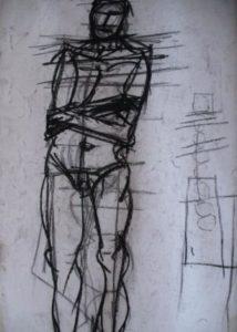 nude study by Keith Davies