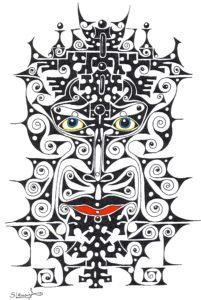 Keltic Face by Steve Lewis