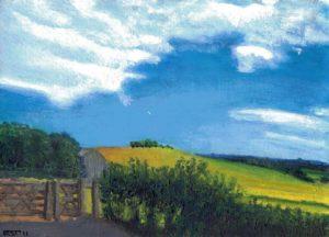 Kent in June by Rowena Turney