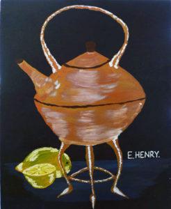 Copper Tea Kettle by Edward Henry