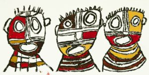 3 Masks by Kevin Hogan