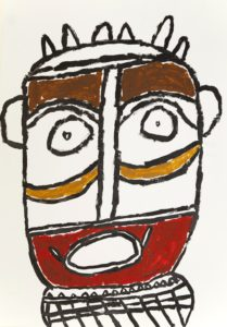 Mask 2 by Kevin Hogan