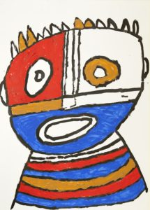 Mask 4 by Kevin Hogan