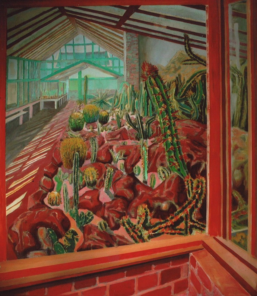 18270 || 3489 || Kew Gardens Cacti on a Sunny Day || £2500.00 || 6224