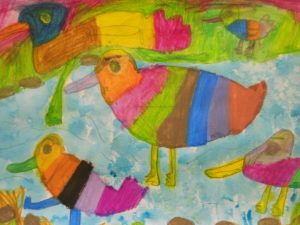 Bright Birds by kirsty clovely