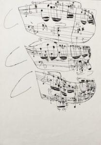 Musical Score 13 by Koji Nishioka