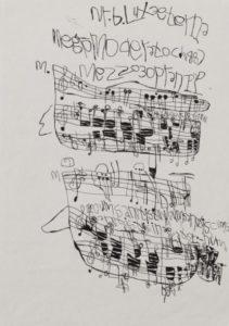 Musical Score 17 by Koji Nishioka