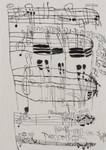 Musical Score 19 by Koji Nishioka