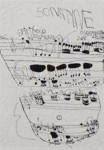 Musical Score Sonatine by Koji Nishioka