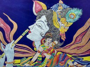 Radha-Krishna by Sandeep Kumar Mishra