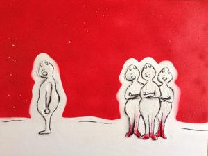 La Bête Humaine by Manuela Hubner