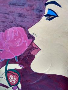 LADY AND ROSE by Sandeep Kumar Mishra