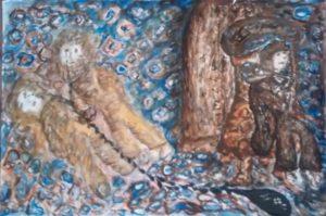 Last human tear by Waltraud Pospischil