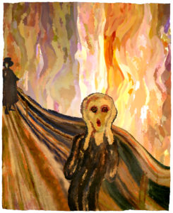 Variations on a Theme by Munch by John Battison