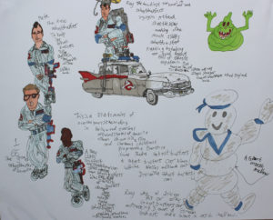 Ghostbusters by Leslie Thompson