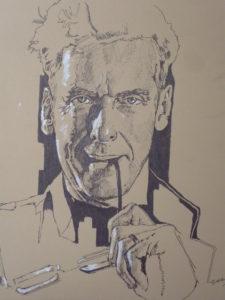 Peter Capaldi by J.Sharp