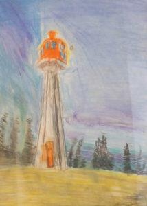 Lighthouse III by Robert McCamley