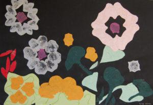 Flower Collage by Liz Innes
