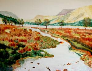 Scottish Landscape by Liz Innes