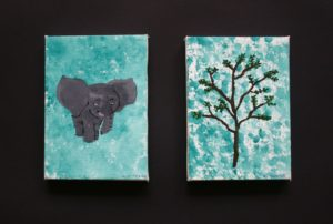 Ellie the Elephant and Her Tree by Elizabeth Wingate