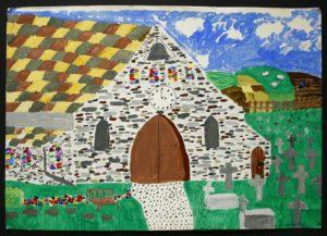 the Churchyard by Elizabeth Wingate