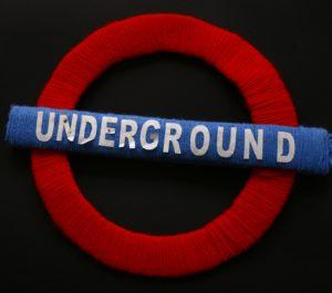 Underground Sign by Elizabeth Wingate