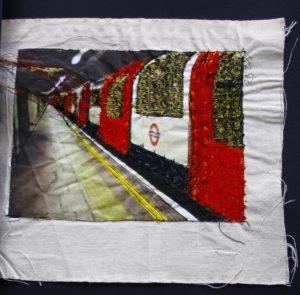 Underground Train by Elizabeth Wingate