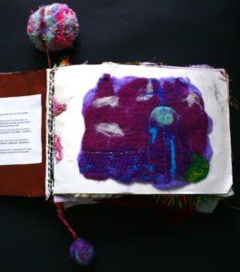 sketchbook page by Elizabeth Wingate