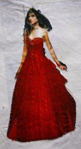 Lady in Red by Elizabeth Wingate