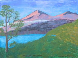 Loch Taye & Mt. Lawers by Bernard Parker