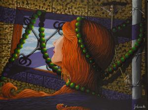 Locked in a Day Dream. by Anni Golemienko